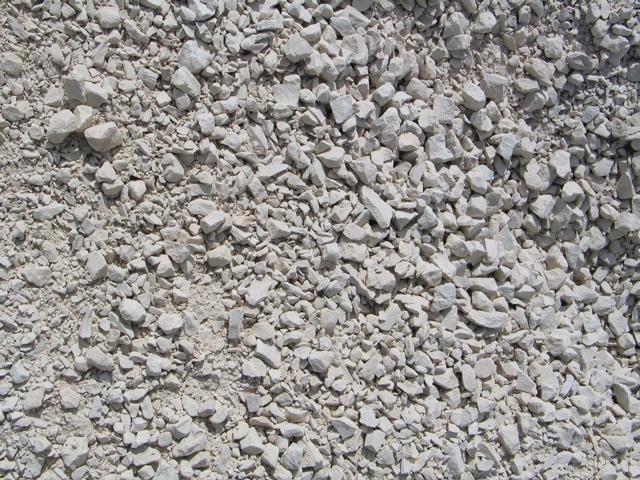 Concrete And Pea Gravel Patio